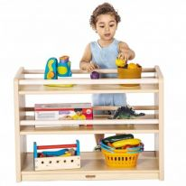 Toddlers 2 Shelf Cabinet